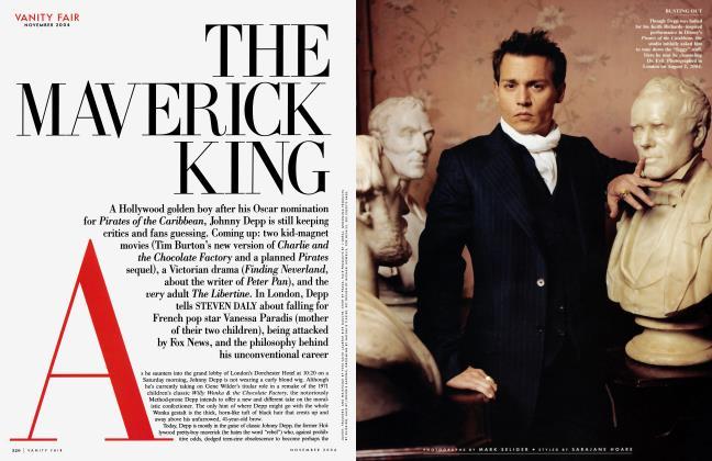 Article Preview: THE MAVERICK KING, November 2004 2004 | Vanity Fair
