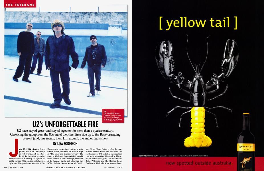 U2's UNFORGETTABLE FIRE