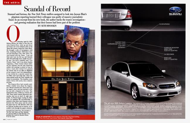 Article Preview: Scandal of Record, December 2004 | Vanity Fair