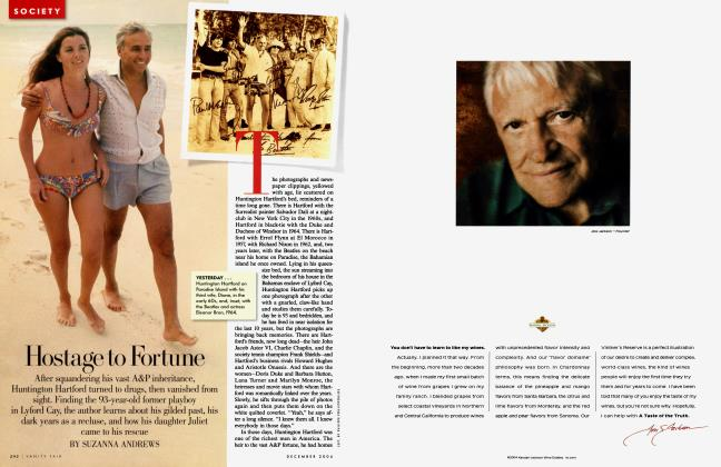 Article Preview: Hostage to Fortune, December 2004 2004 | Vanity Fair