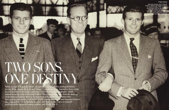 Article Preview: TWO SONS, ONE DESTINY, December 2004 2004 | Vanity Fair
