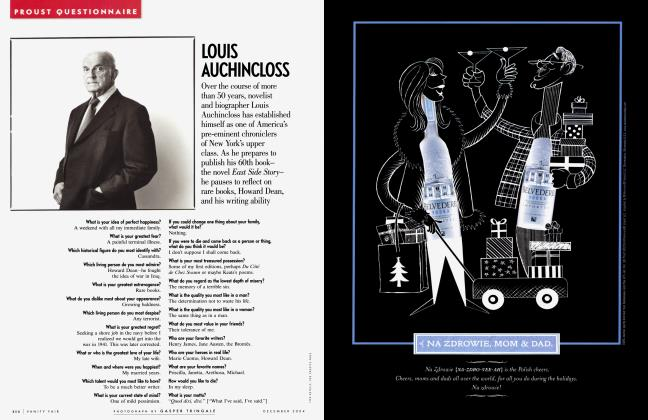 Article Preview: LOUIS AUCHINCLOSS, December 2004 2004 | Vanity Fair