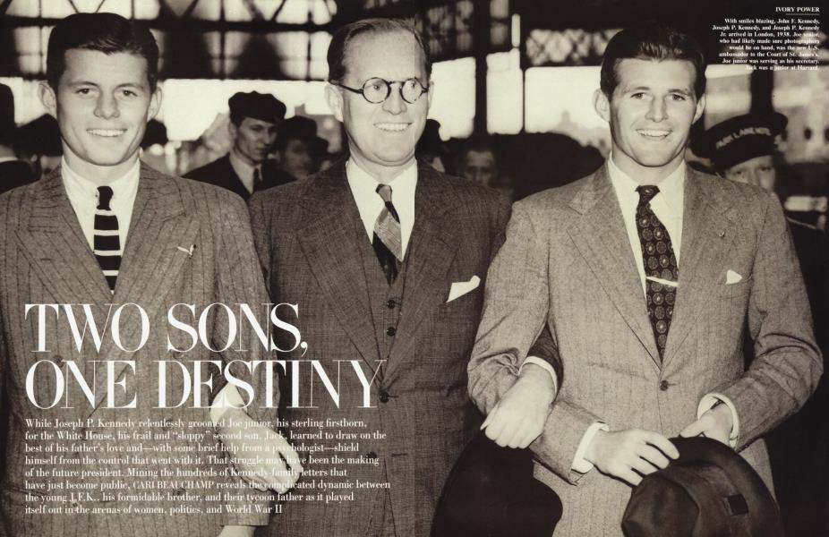 TWO SONS, ONE DESTINY