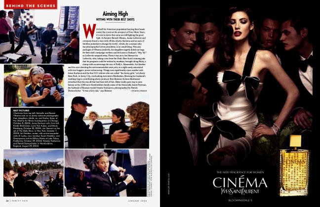 Article Preview: Aiming High, January 2005 2005 | Vanity Fair