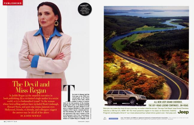 Article Preview: The Devil and Miss Regan, January 2005 | Vanity Fair