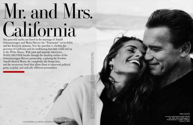 Article Preview: Mr. and Mrs. California, January 2005 2005 | Vanity Fair