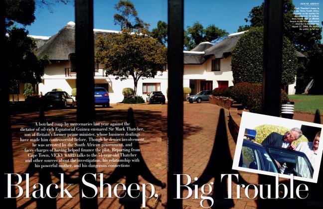 Article Preview: Black Sheep, Big Trouble, January 2005 2005 | Vanity Fair