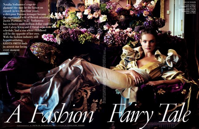 Article Preview: A Fashion Fairy Tale, January 2005 | Vanity Fair