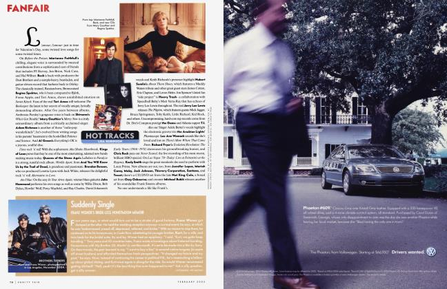 Article Preview: Suddenly Single, February 2005 2005 | Vanity Fair
