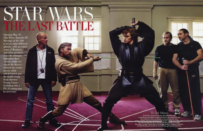 Article Preview: STAR WARS: THE LAST BATTLE, February 2005 2005 | Vanity Fair