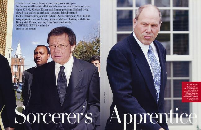 Article Preview: Sorcerer's Apprentice, February 2005 | Vanity Fair