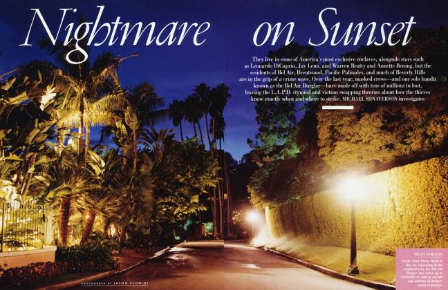 Article Preview: Nightmare on Sunset, February 2005 2005 | Vanity Fair