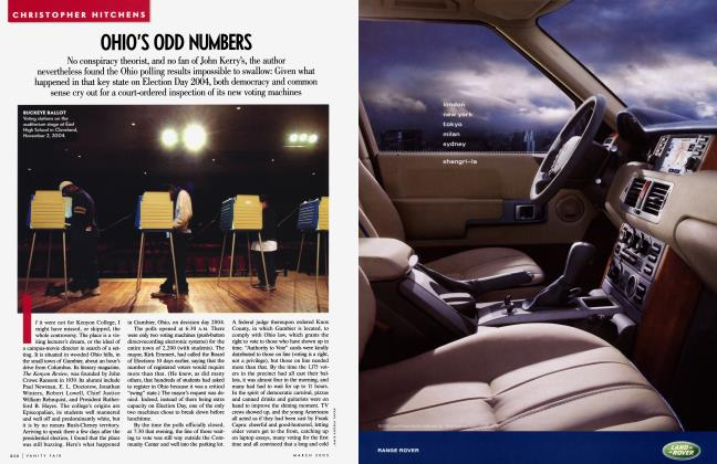 Article Preview: OHIO'S ODD NUMBERS, March 2005 2005 | Vanity Fair