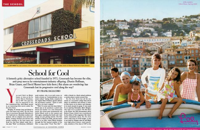 Article Preview: School for Cool, March 2005 2005 | Vanity Fair