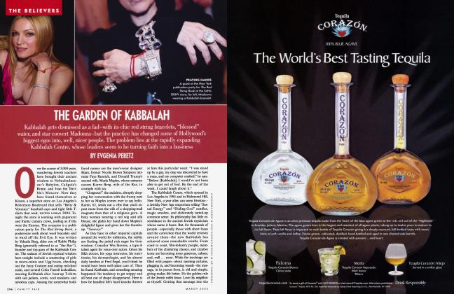 Article Preview: THE GARDEN OF KABBALAH, March 2005   Vanity Fair