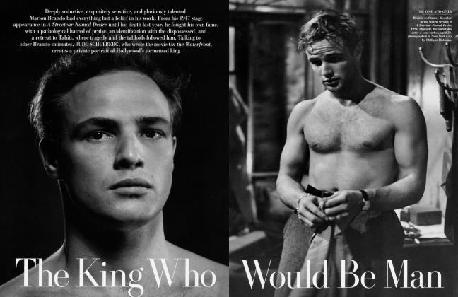 Article Preview: The King Who Would Be Man, March 2005 2005 | Vanity Fair