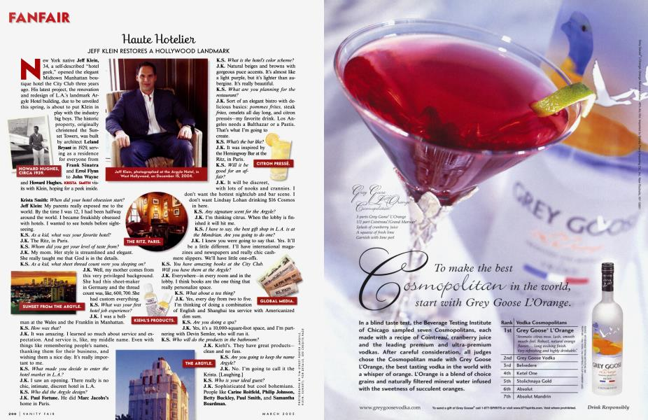 Haute Hotelier
