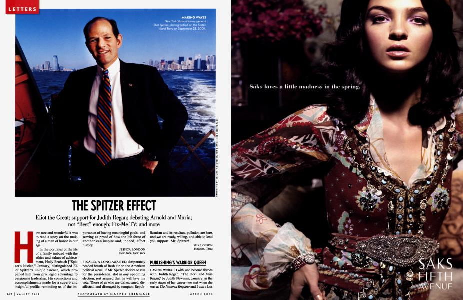 THE SPITZER EFFECT