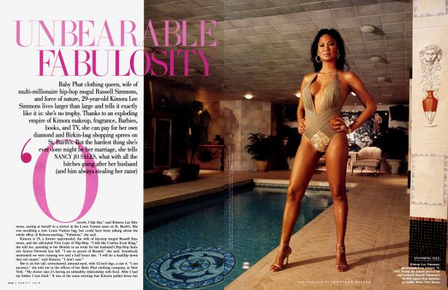 Article Preview: UNBEARABLE FABULOSITY, April 2005 2005 | Vanity Fair
