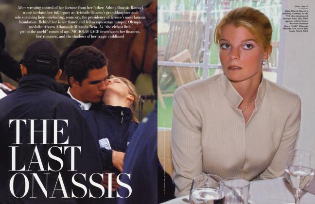 Article Preview: THE LAST ONASSIS, May 2005 | Vanity Fair