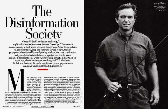 Article Preview: The Disinformation Society, May 2005 2005   Vanity Fair