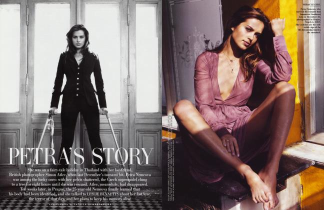 Article Preview: PETRA'S STORY, May 2005 2005 | Vanity Fair