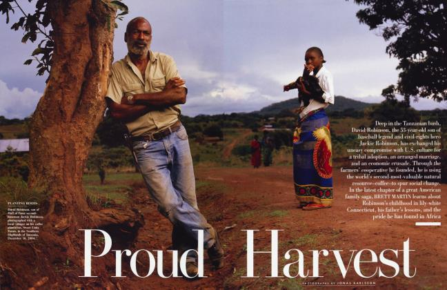 Article Preview: Proud Harvest, May 2005 2005 | Vanity Fair