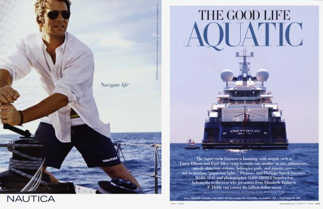 Article Preview: THE GOOD LIFE AQUATIC, May 2005 2005 | Vanity Fair