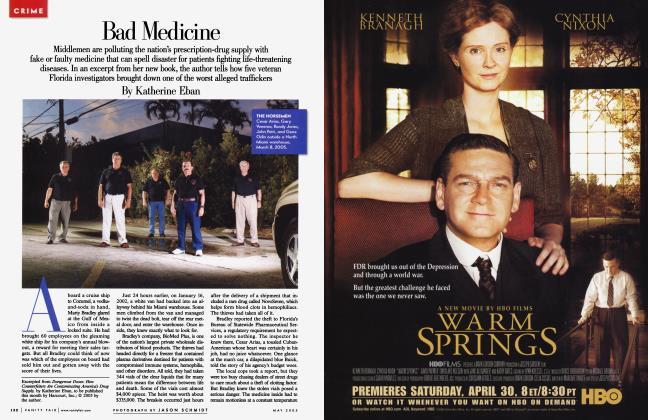 Article Preview: Bad Medicine, May 2005 2005   Vanity Fair