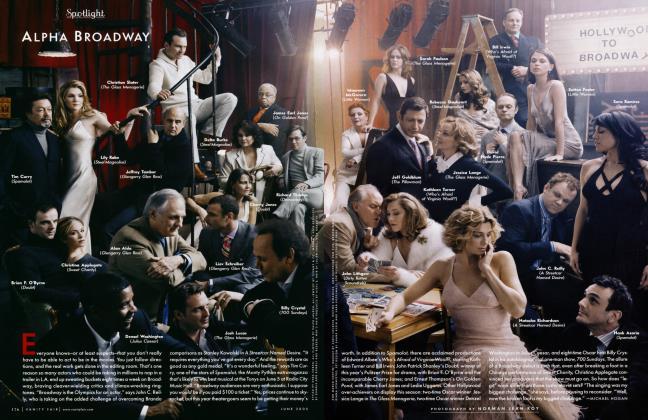 Article Preview: ALPHA BROADWAY, June 2005 2005 | Vanity Fair