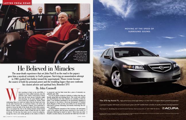 Article Preview: He Believed in Miracles, June 2005 | Vanity Fair