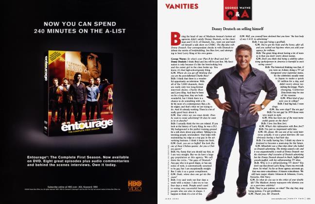 Article Preview: GEORGE WAYNE Q & A, June 2005 2005   Vanity Fair