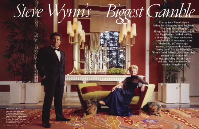 Article Preview: Steve Wynn's Biggest Gamble, June 2005 2005 | Vanity Fair