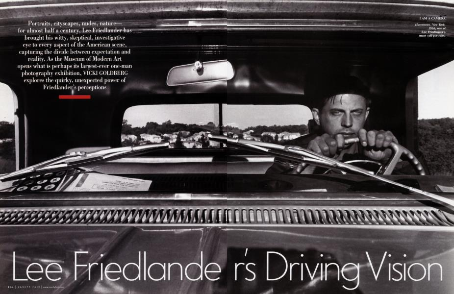 Lee Friedlander's Driving Vision