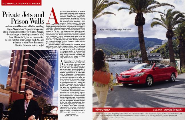 Article Preview: Private Jets and Prison Walls, July 2005 2005 | Vanity Fair