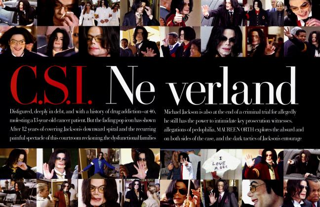 Article Preview: C.S.I. Neverland, July 2005 | Vanity Fair