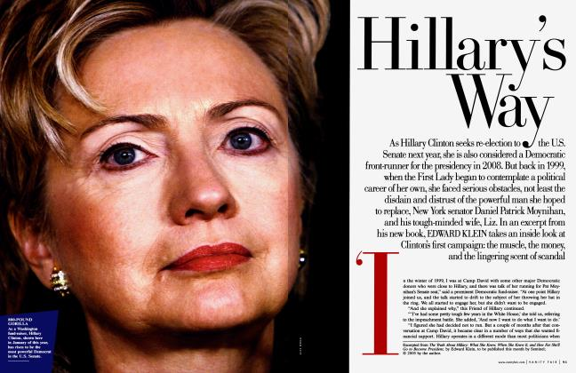 Article Preview: Hillary's Way, July 2005 | Vanity Fair
