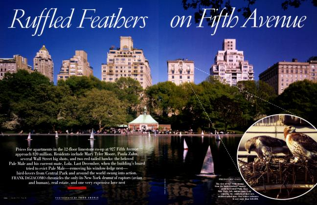 Article Preview: Ruffled Feathers on Fifth Avenue, July 2005 | Vanity Fair