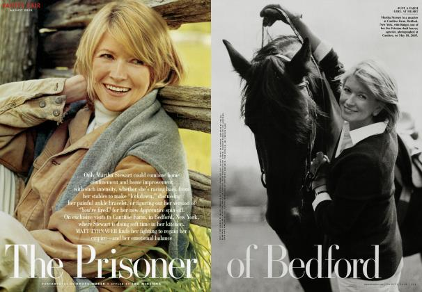 Article Preview: The Prisoner of Bedford, August 2005 2005 | Vanity Fair