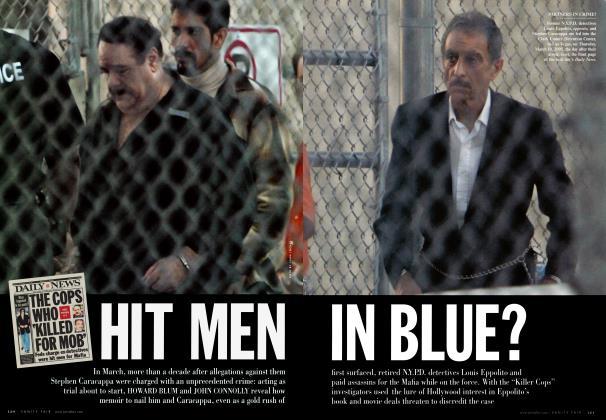 Article Preview: HIT MEN IN BLUE?, August 2005 | Vanity Fair