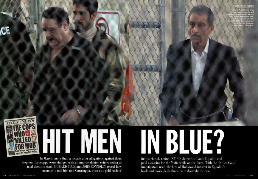 HIT MEN IN BLUE?