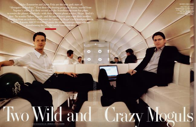 Article Preview: Two Wild and Crazy Moguls, September 2005 2005 | Vanity Fair