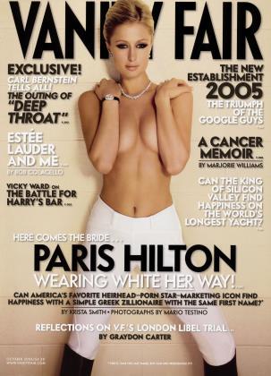 October 2005 | Vanity Fair