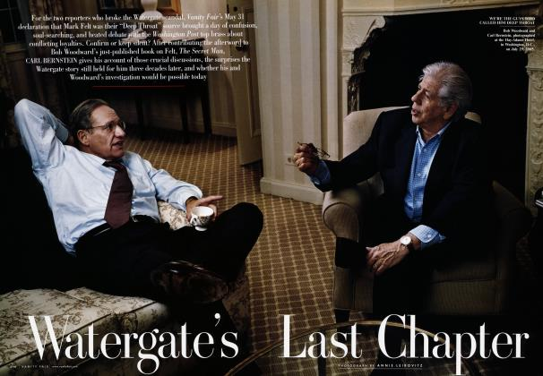 Article Preview: Watergate's Last Chapter, October 2005 2005 | Vanity Fair