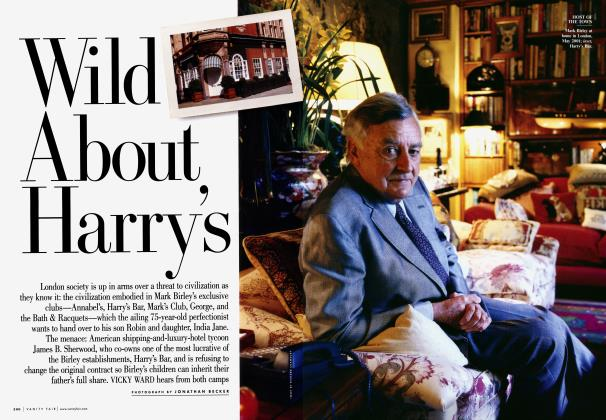 Article Preview: Wild About Harry's, October 2005 | Vanity Fair