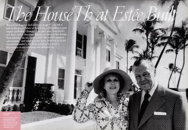 Article Preview: The House That Estée Built, October 2005 | Vanity Fair