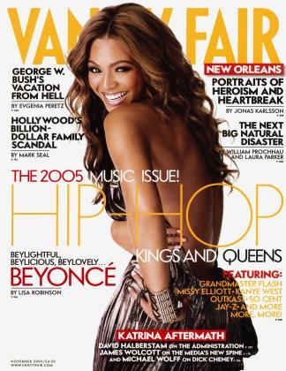 November 2005 | Vanity Fair