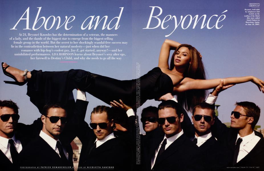Above and Beyoncé