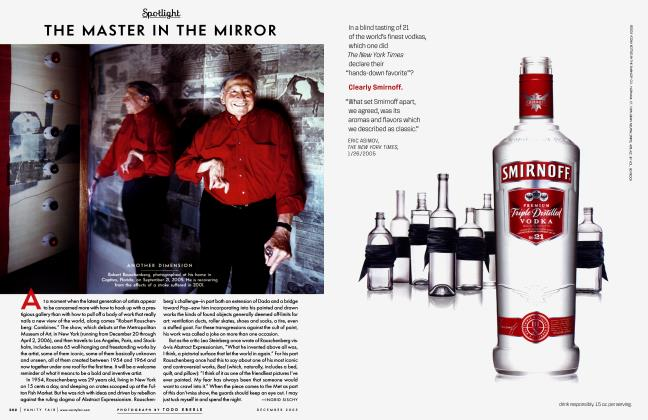 Article Preview: THE MASTER IN THE MIRROR, December 2005 2005 | Vanity Fair