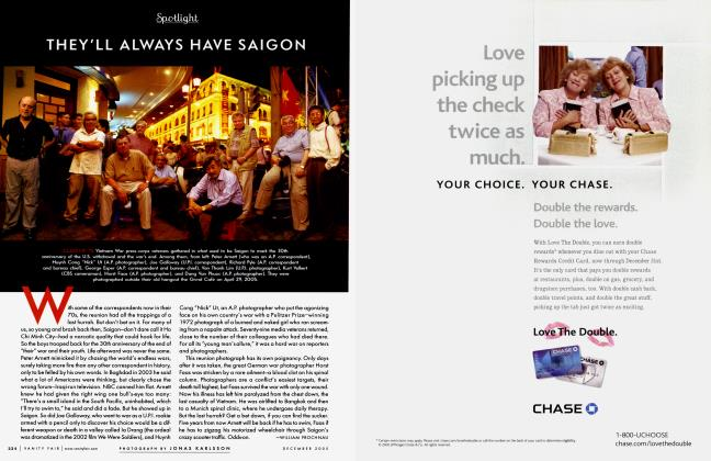 Article Preview: THEY'LL ALWAYS HAVE SAIGON, December 2005 2005 | Vanity Fair